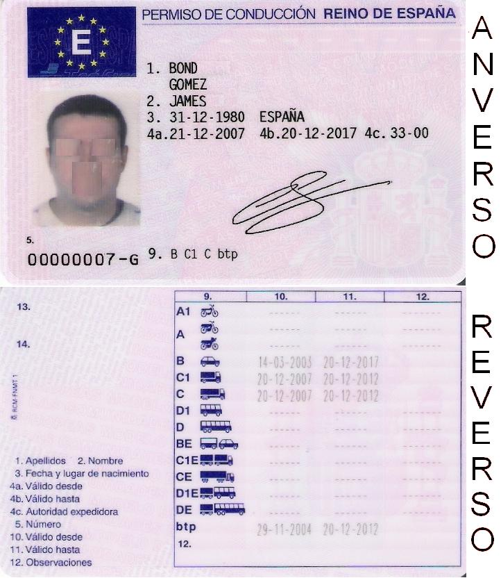 application for driver of absturct out side of quebec