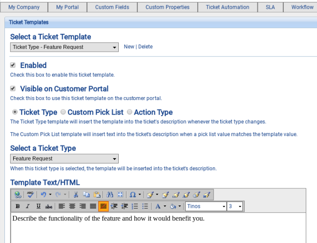 software application support documentation template