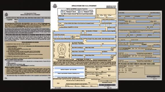 how to fill out the simplified renewal passport application