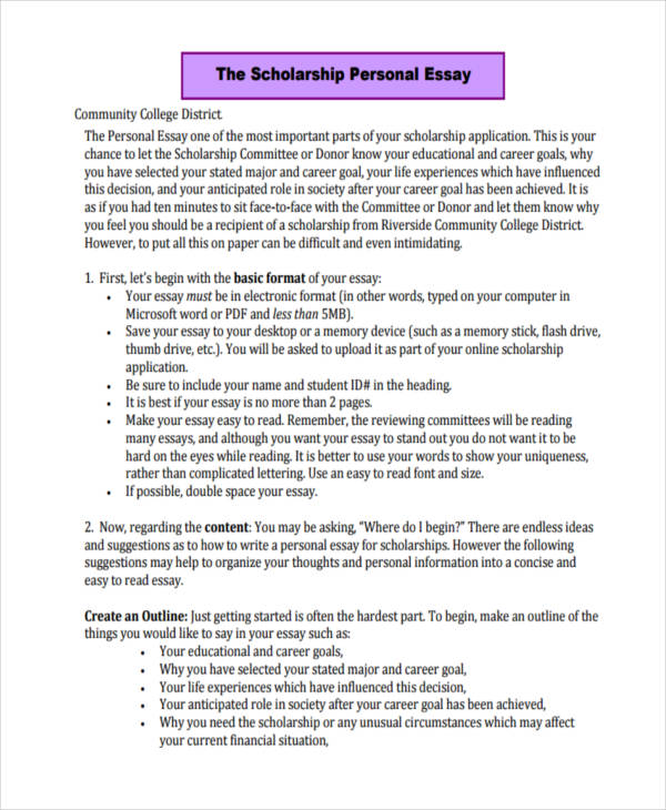 how to write a college application essay samples