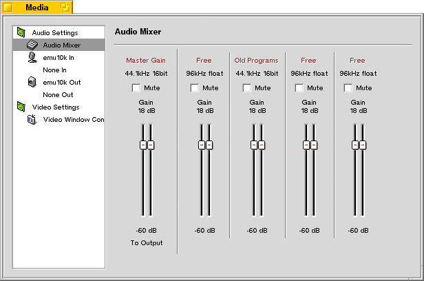 volume mixer how to move applications