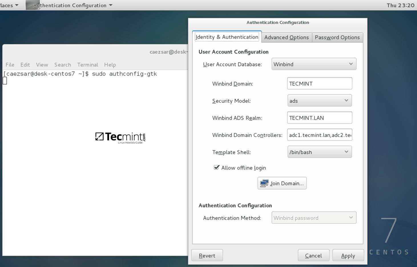 domain joined workstation give administrator rights to specific application