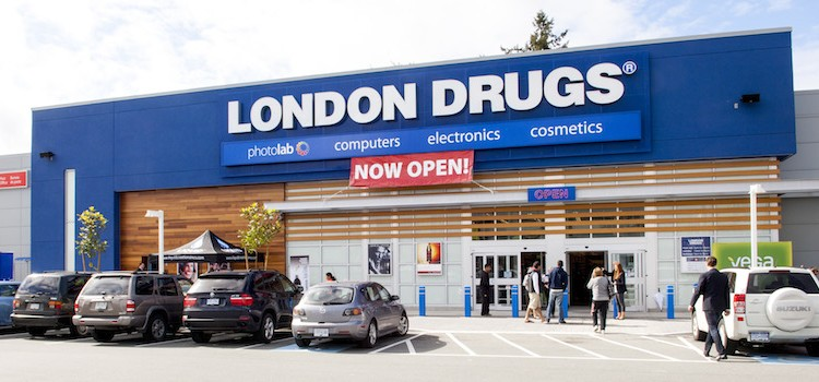 london drugs vctoria bc application