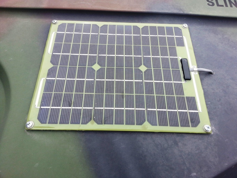 small scale solar panel applications