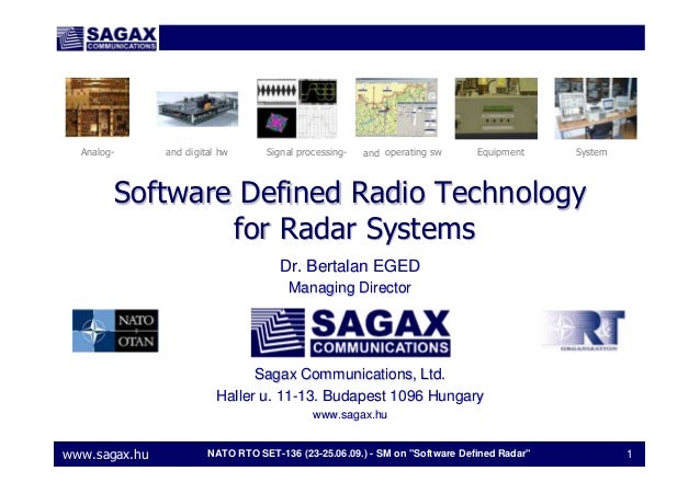 software-defined radio sdr applications